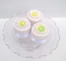 White Mini Cakes