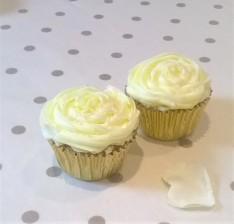Rose & Almond Cupcakes